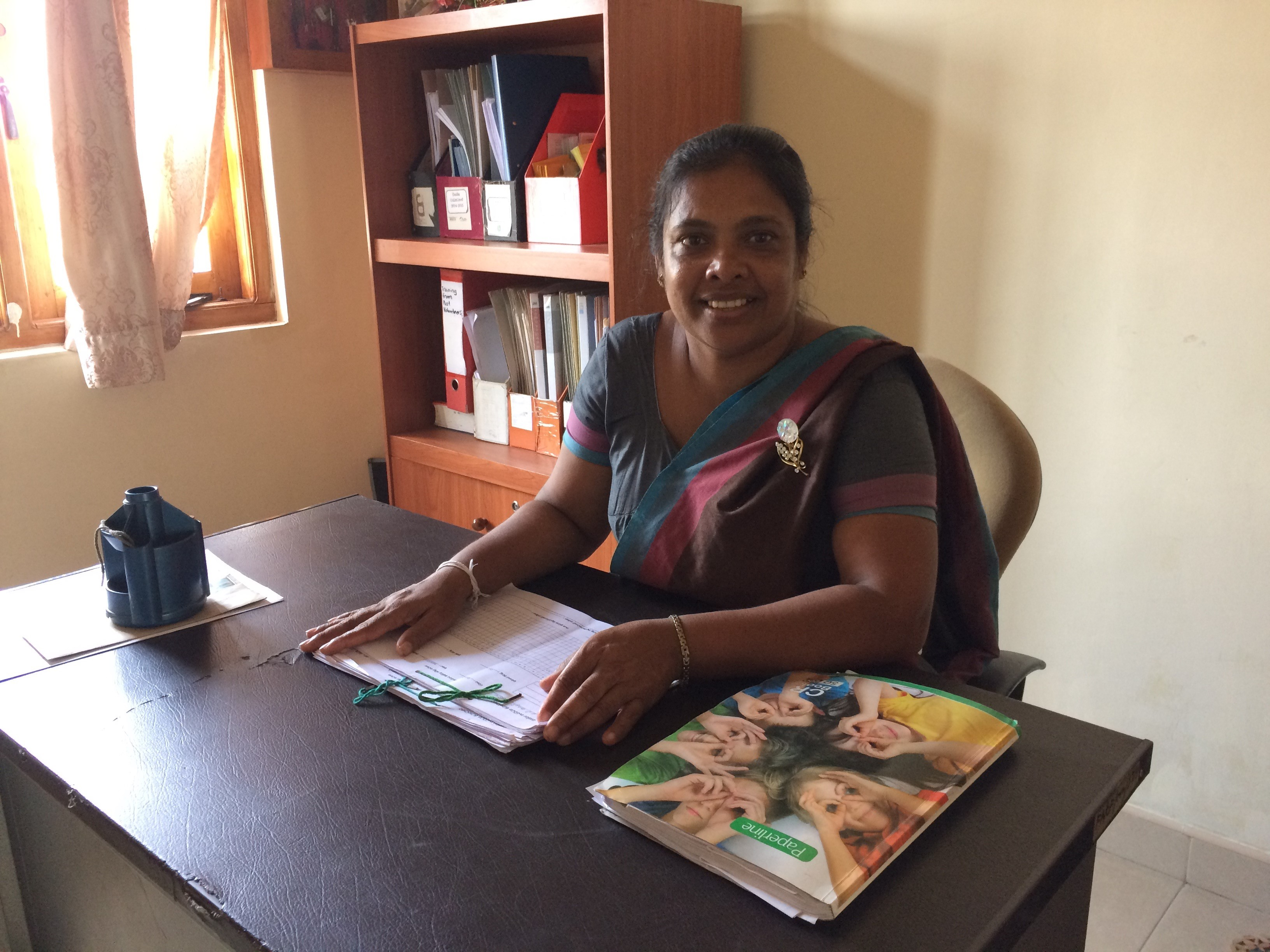 Ms. Dhammika Podimenike – Coordinator for Community Based Rehabilitation