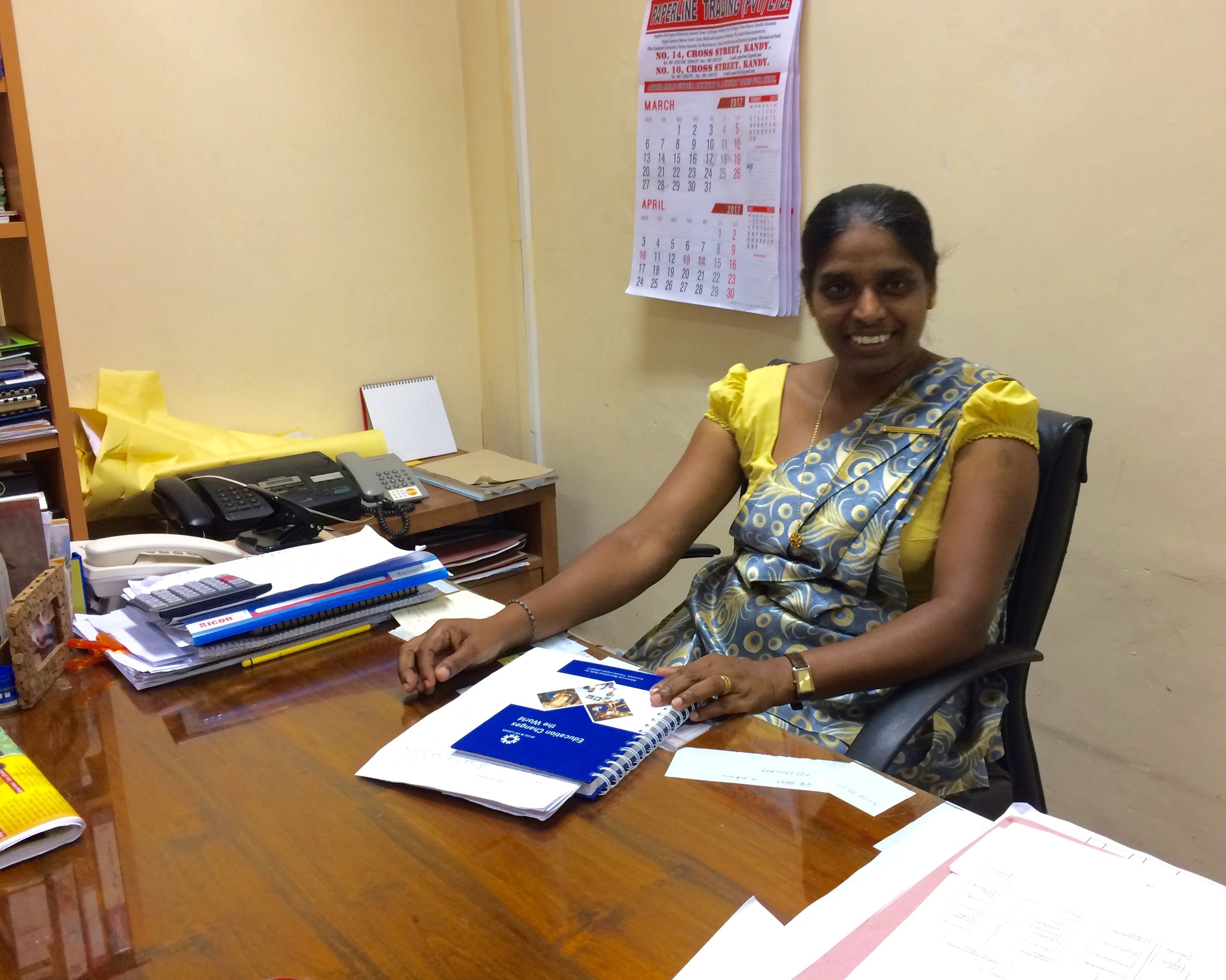 Ms. Indika Rathnayake – Community Development and Network Coordinator