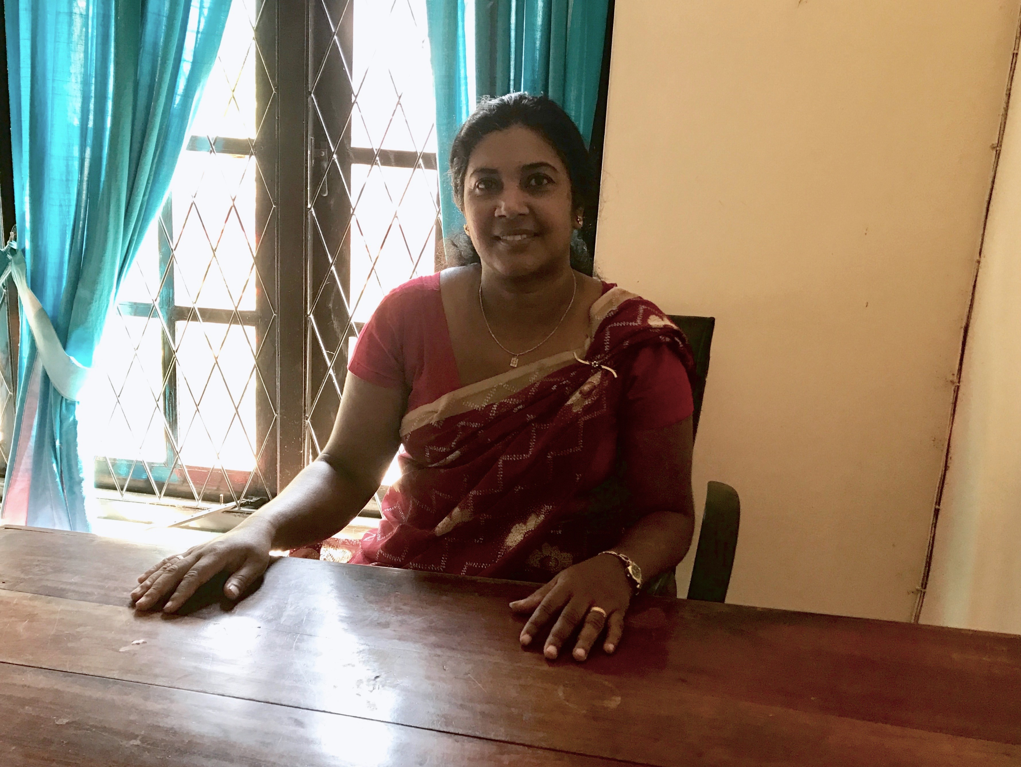 Ms. Janaki Ranasinghe – Coordinator for Crisis Intervention