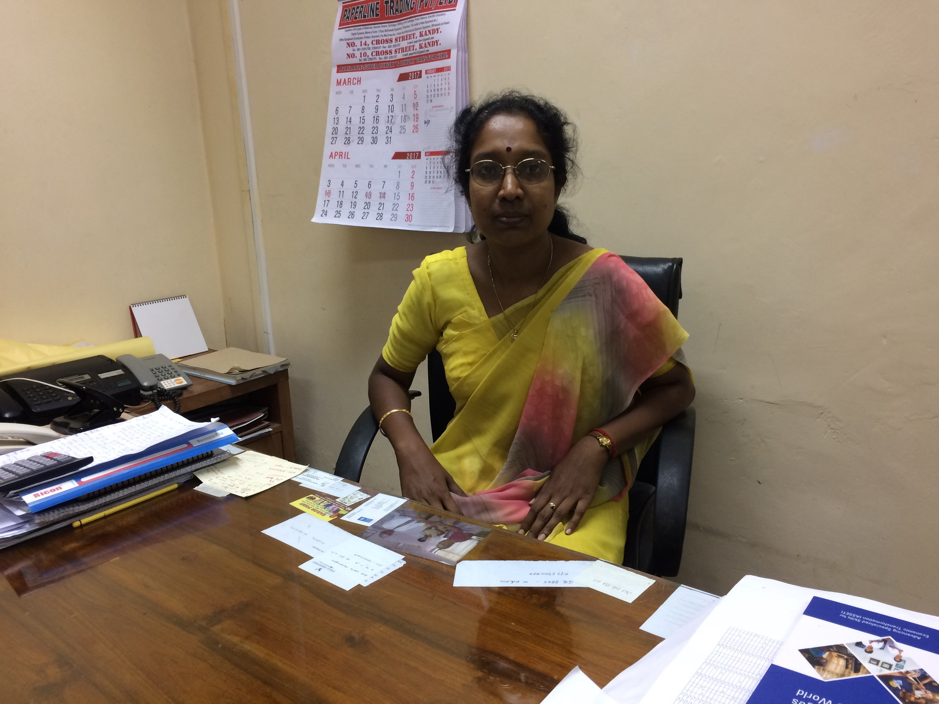 Ms. Shiyamala Velupillai – Community Development and Network Coordinator