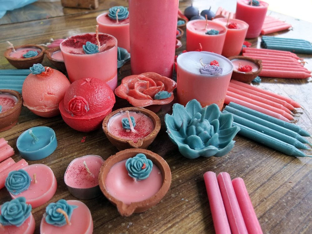 Developing Skills Through Candle Making