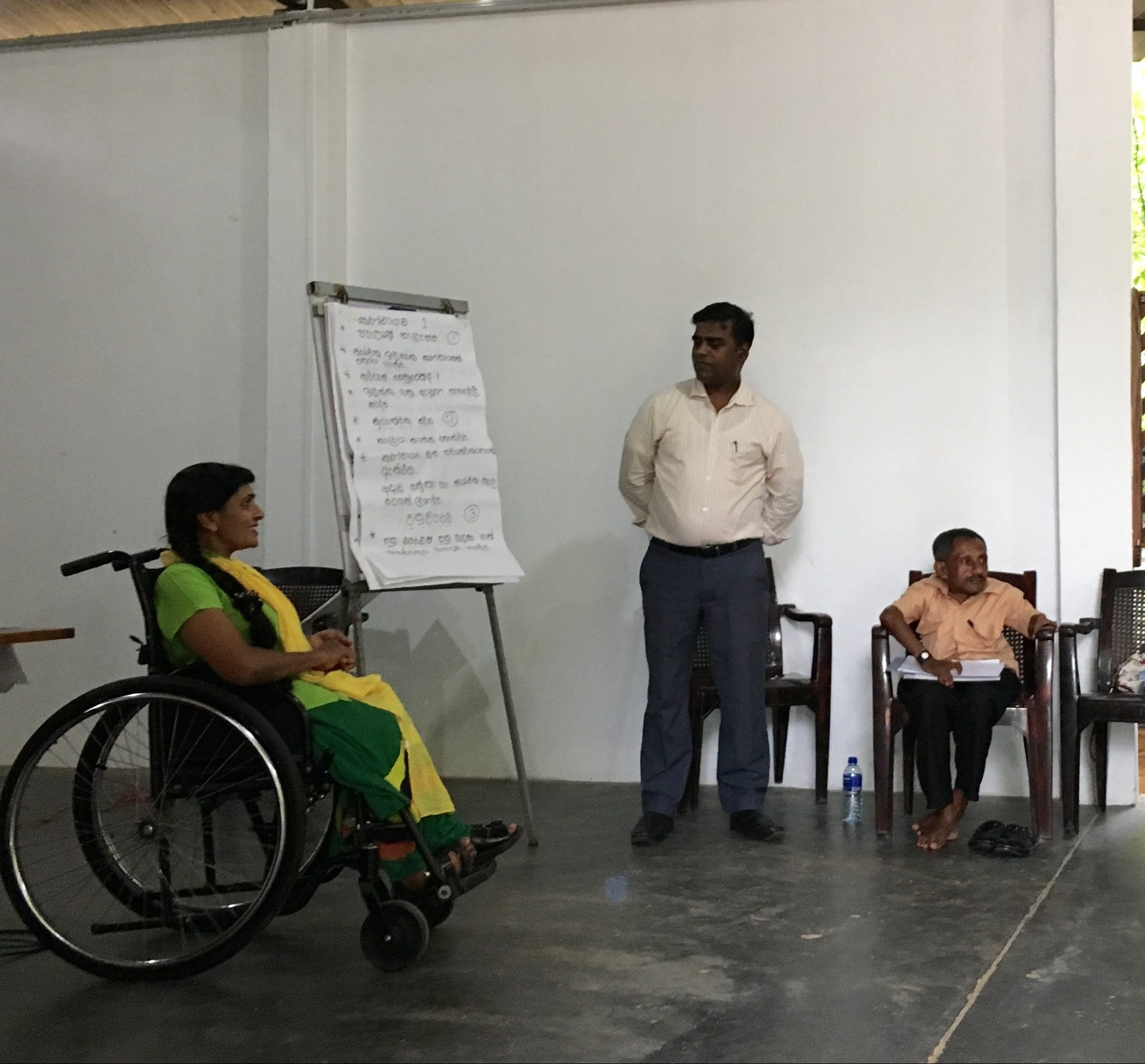 Inclusion Of Women With And Without Disabilities In Sri Lanka's Reconciliation And Development Processes